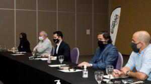 La Secretaría de Turismo junto a la AHGC unidos por una agenda común Turística